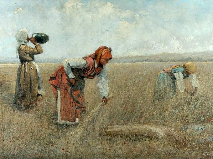 """№1350, """"В парка"""" от  Иван Шишкин. Жикле картина с ефектен ръчен релеф. Индивидуална изработка по поръчка."""