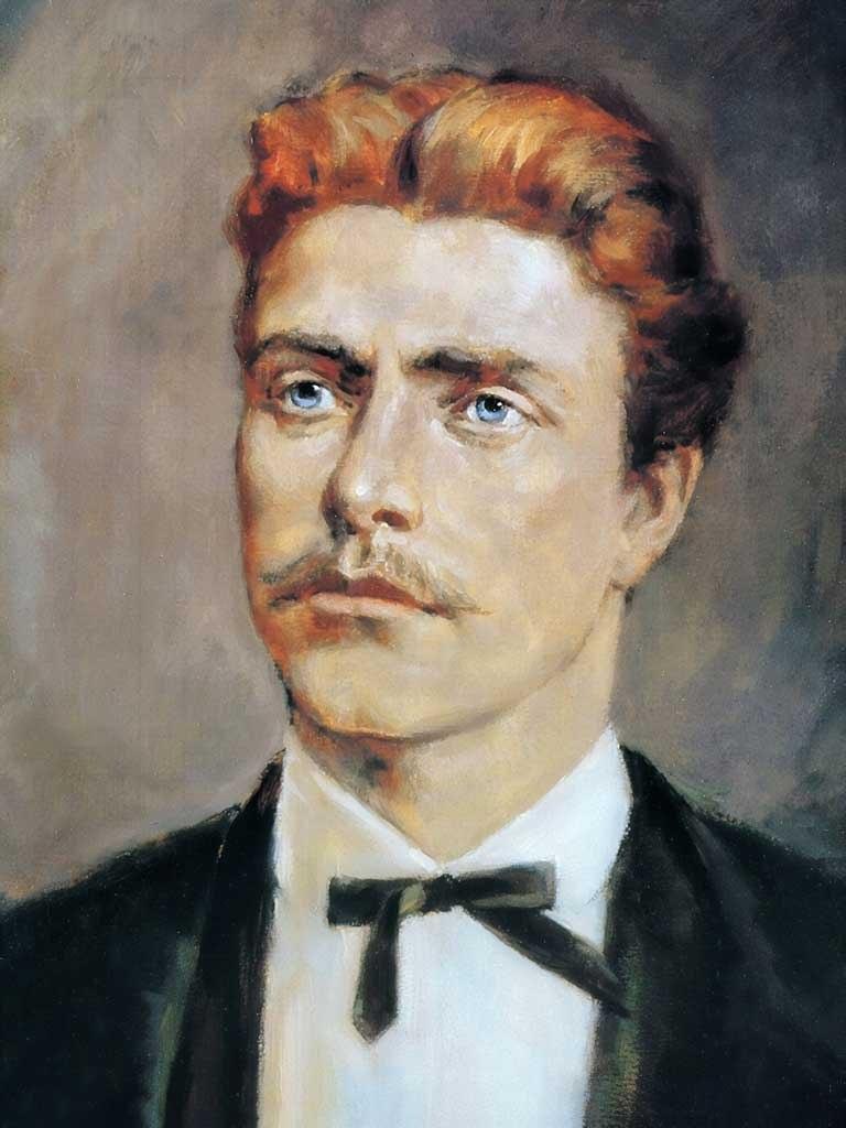 №1406, Портрет на Васил Левски. Жикле картина с ефектен ръчен релеф. Индивидуална изработка по поръчка.