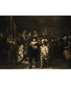 """The Night Watch"" от Rembrandt"