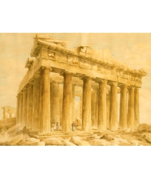 """The Parthenon"" от Giovanni Lusieri"