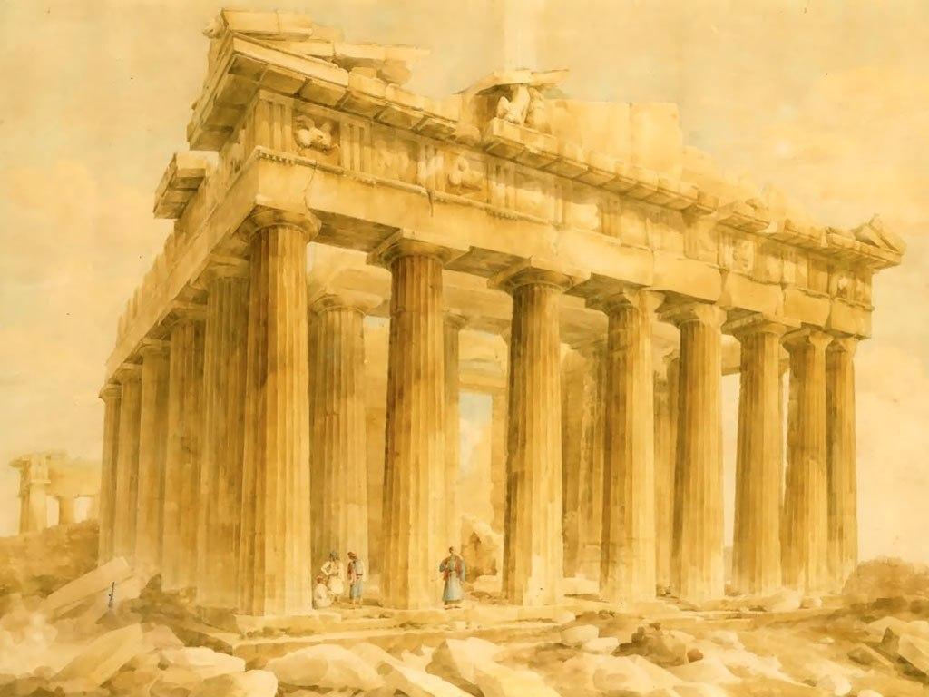 """The Parthenon"" от Giovanni Lusieri"