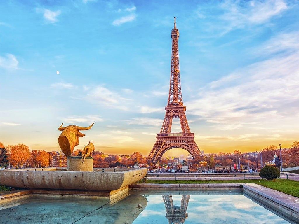 №1855, Спокойствието на Париж. Фото-картина.