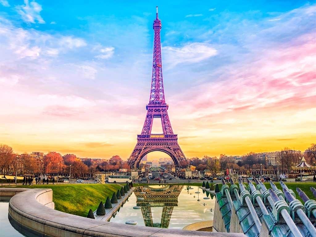 №1856, Спокойствието на Париж 1. Фото-картина.