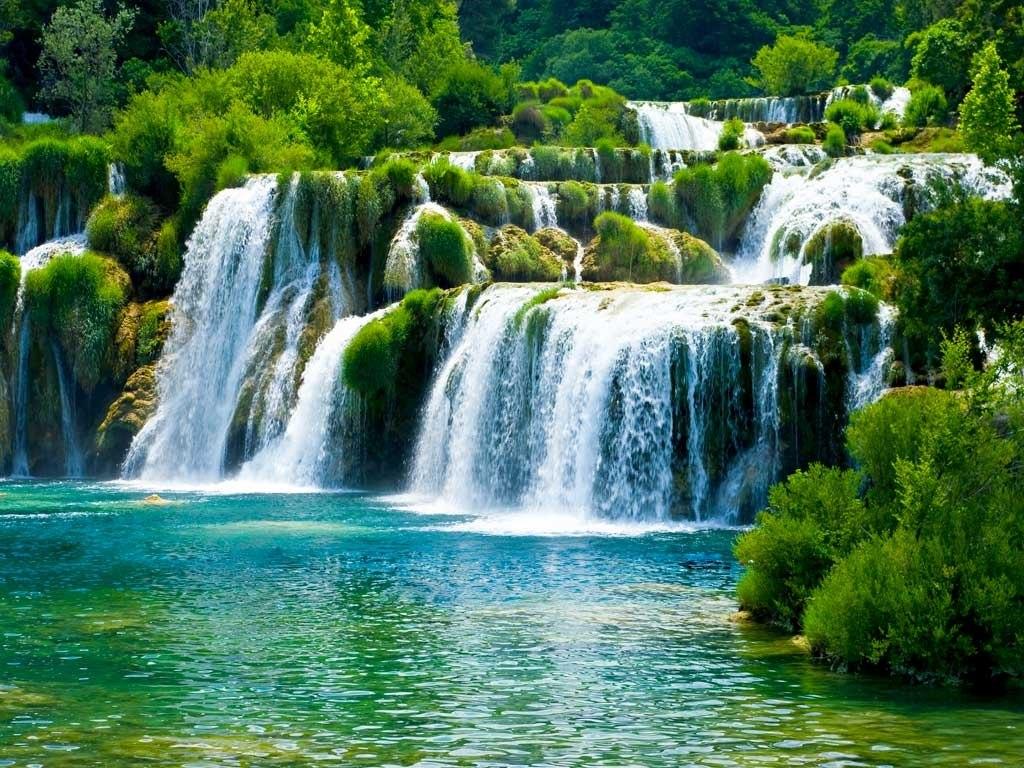 №1928, Големият водопад 2. Фото-картина.