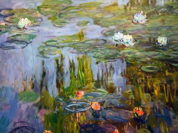 Водни лилии I от Клод Моне. Картина - репродукция