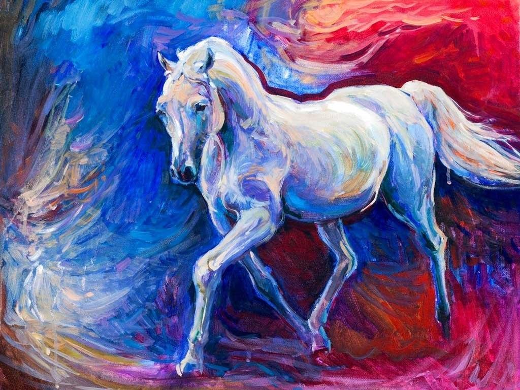 №2181, Щастливият кон. Индивидуална изработка по поръчка.