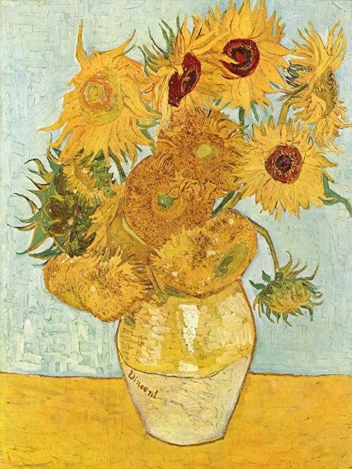 Поканете лятото в дома си със Слънчогледите на Ван Гог
