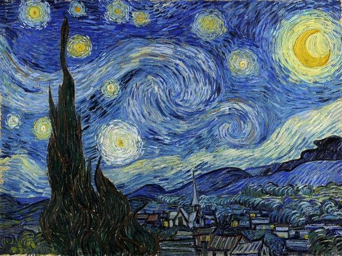 Звездна нощ от Ван Гог