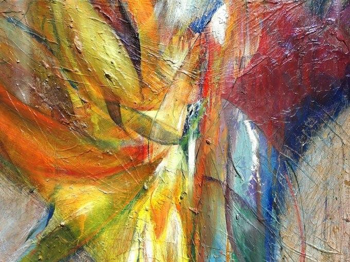 Енергия - абстракция. Картина - репродукция