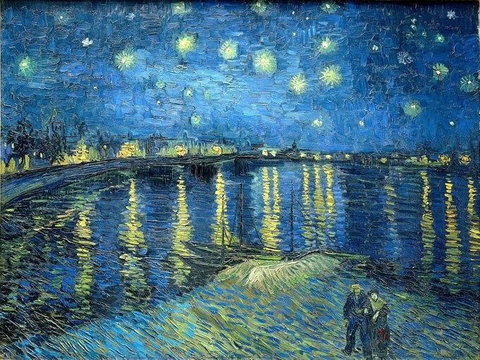 Звездна нощ над Рона