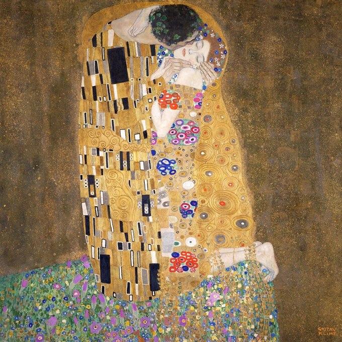 Откъде да се сдобиете с Целувката от Густав Климт